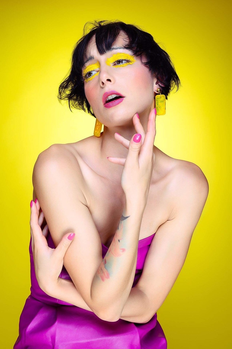 Life in Technicolor / Photography by Gav Woodgate, Model Marie Jean Taylor, Makeup by Keli Cartwright HMUA, Post processing by Gav Woodgate, Taken at YorkPhotoStudio / Uploaded 2nd June 2019 @ 06:36 PM