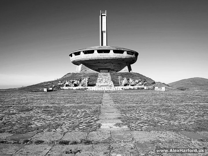 Mt Buzludzha Communist Monument, Bulgaria / Photography by Alex Harford, Post processing by Alex Harford / Uploaded 29th August 2017 @ 08:25 PM