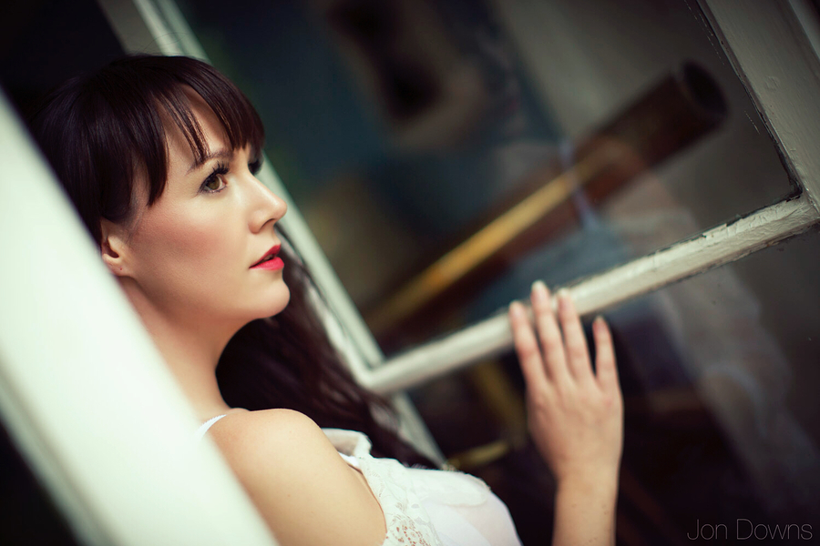 Through the open window... / Photography by Jon Downs, Model Mishball, Makeup by Mishball, Hair styling by Mishball / Uploaded 8th September 2018 @ 06:18 PM