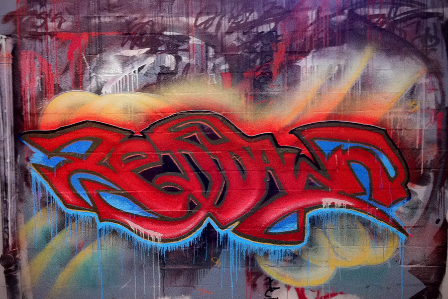 Grafitti Wall / Taken at RedDawn Photography Studio / Uploaded 10th March 2016 @ 11:30 PM