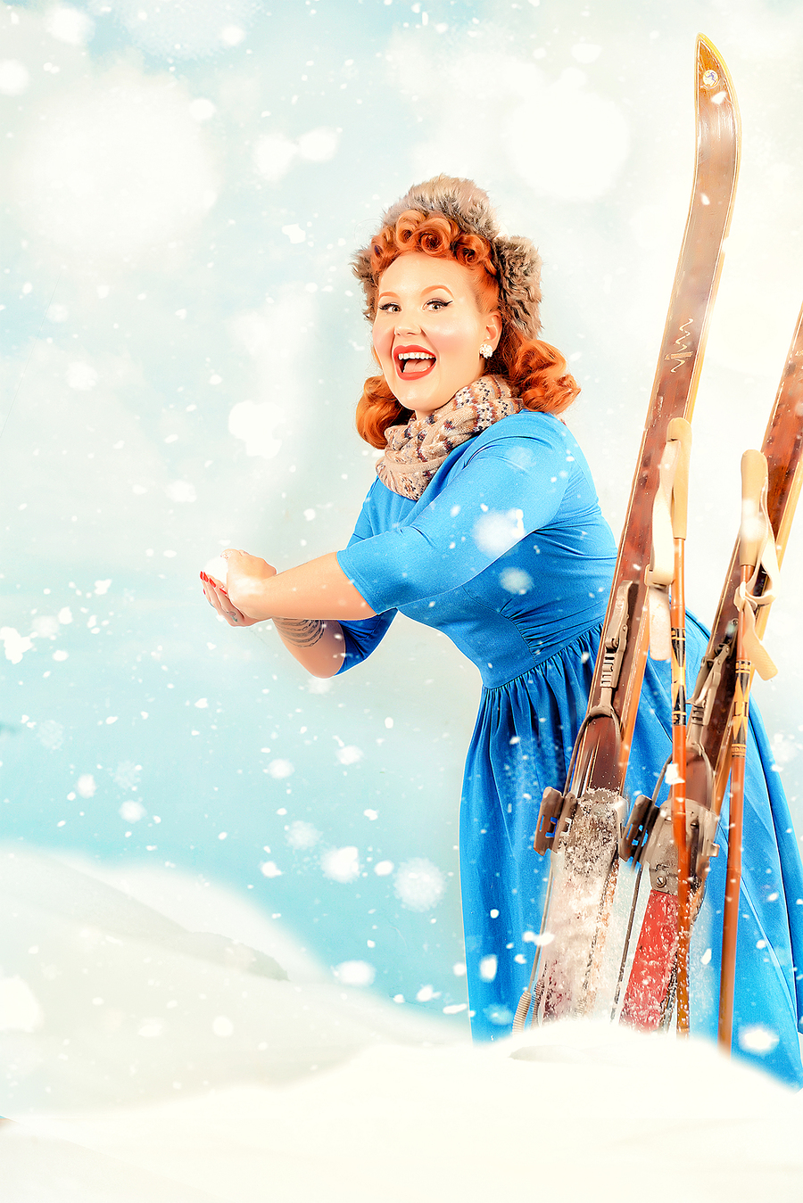 Winter pinup / Photography by Are Knudsen Photography / Uploaded 19th January 2021 @ 09:15 AM