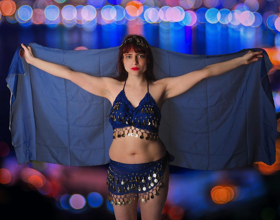 Zara Liore the gypsy bellydancer / Photography by Pief, Model Zara Liore, Makeup by Zara Liore / Uploaded 12th November 2017 @ 02:22 PM