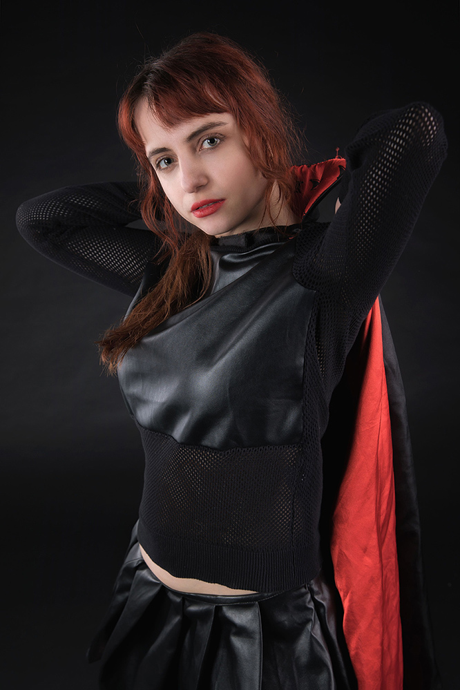 Zara Liore the villain / Photography by John Herm, Model Zara Liore, Makeup by Zara Liore / Uploaded 4th April 2018 @ 06:18 PM