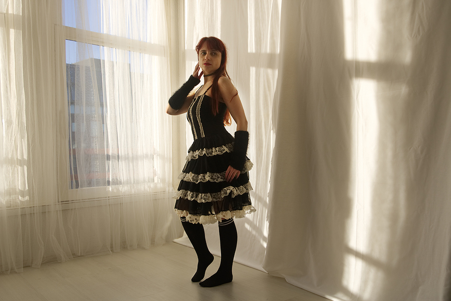 Zara Liore the lolita / Photography by Onno Veerman, Model Zara Liore, Makeup by Zara Liore / Uploaded 24th April 2018 @ 10:06 PM
