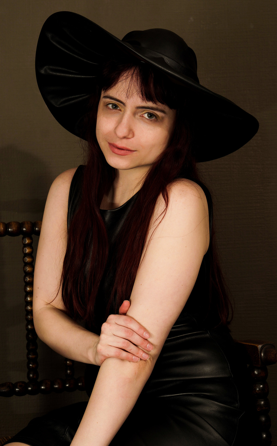 Zara Liore the witch / Photography by T.R. Devlin, Model Zara Liore, Makeup by Zara Liore, Taken at FoToRo / Uploaded 14th May 2018 @ 01:42 PM