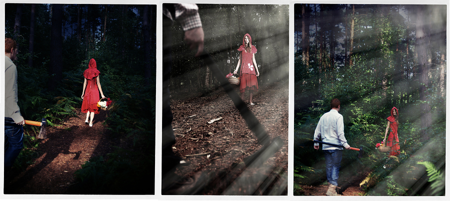 Red riding hood / Photography by Bigfish3311, Model xxmrmthxx - Melissa Tongue / Uploaded 11th October 2013 @ 01:53 PM