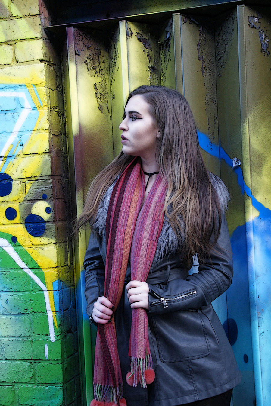 Demi Graffitti 2 / Photography by Brigadier, Model Demi Hughes / Uploaded 4th December 2017 @ 03:29 PM