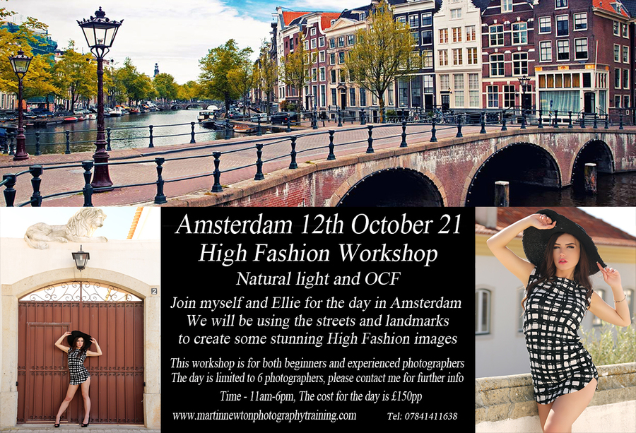 Amsterdam High Fashion Workshop / Photography by Martin Newton Photography, Model EllieJH, Taken at Photography Holidays / Uploaded 8th September 2020 @ 03:18 PM