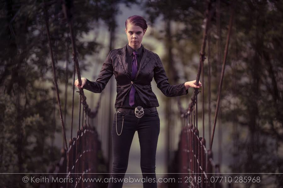 Formal Androgyny / Model Ophyra Joy / Uploaded 11th June 2018 @ 09:52 PM