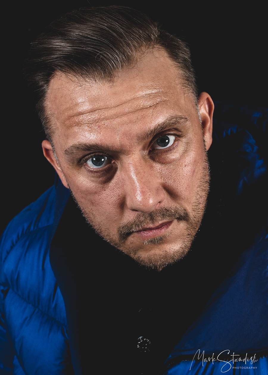 He's looking at you ! / Photography by MSP Studio, Model Eljin Keeling-Johnson, Taken at MSP Studio / Uploaded 6th March 2020 @ 11:55 AM