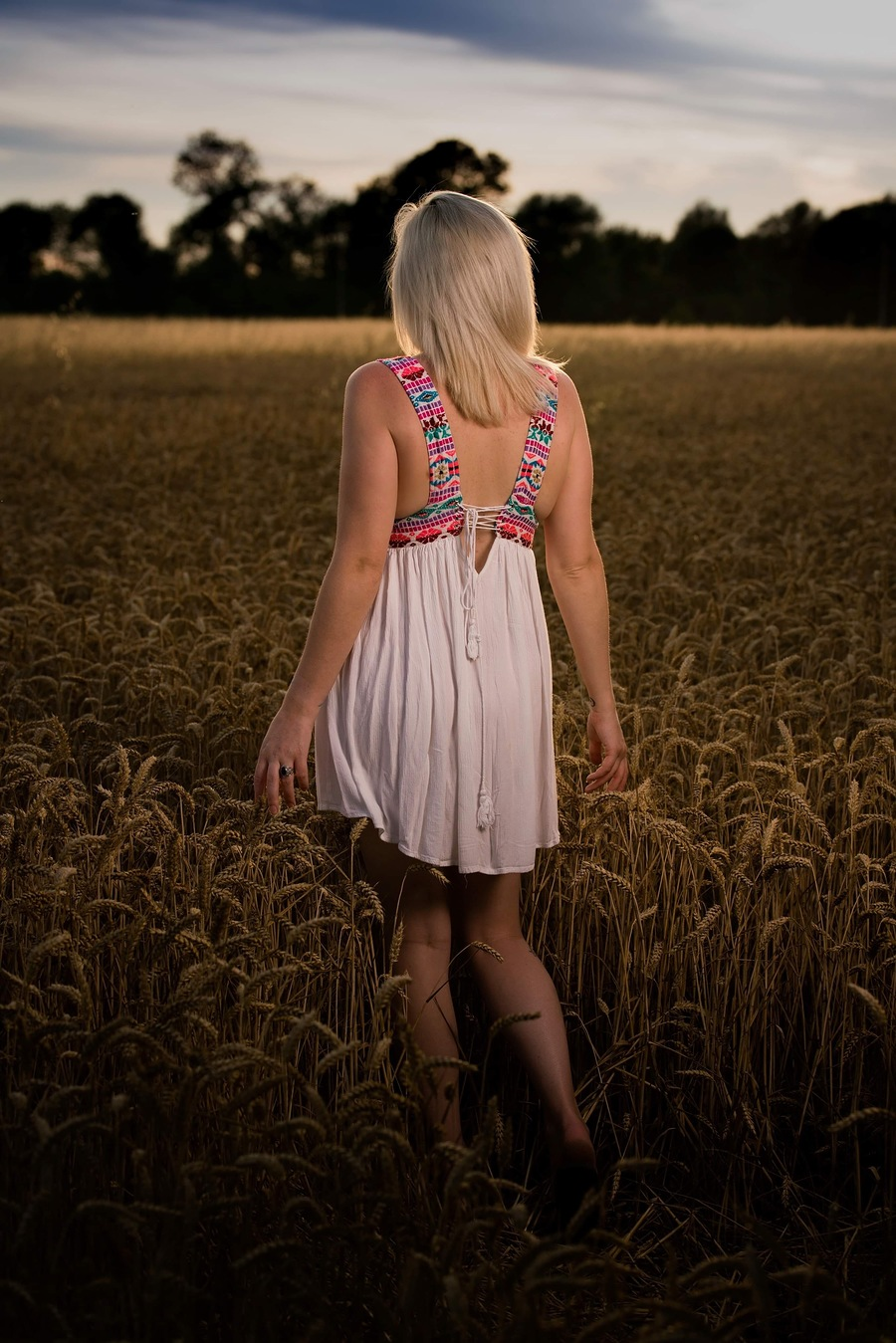 Walking through the field.... thinking of breakfast :) / Photography by Dave Lynes, Model PJ Elise / Uploaded 25th July 2019 @ 10:44 AM