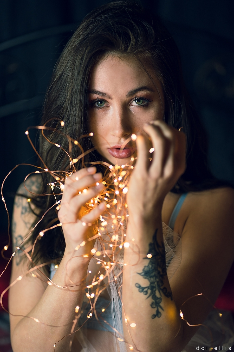 Let her sparkle / Photography by Dai Ellis, Model Nico Dee, Taken at Map Studios / Uploaded 15th December 2018 @ 04:15 PM