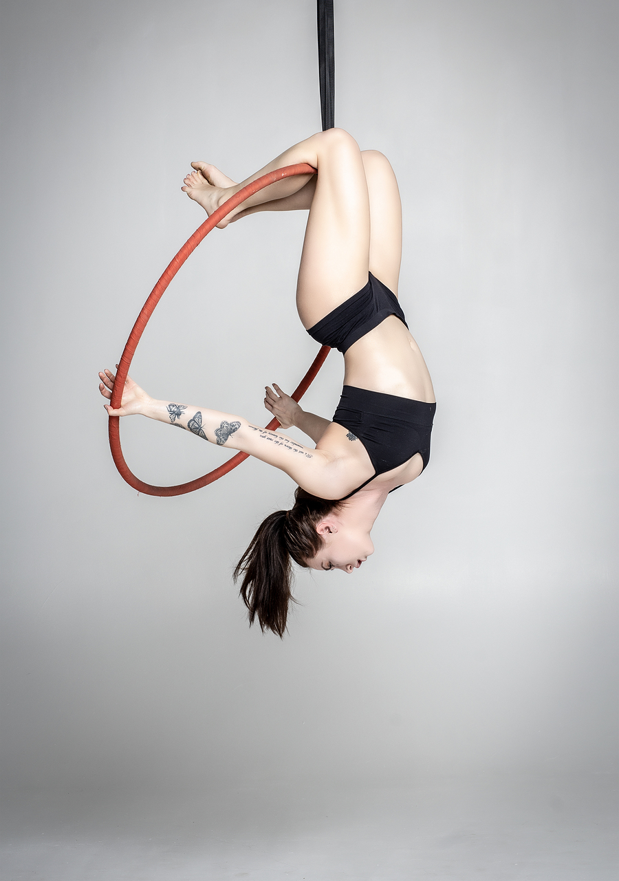 Aerial hoop / Photography by Max Kay, Model Nico Dee, Taken at Natural Light Spaces / Uploaded 21st May 2019 @ 05:23 PM