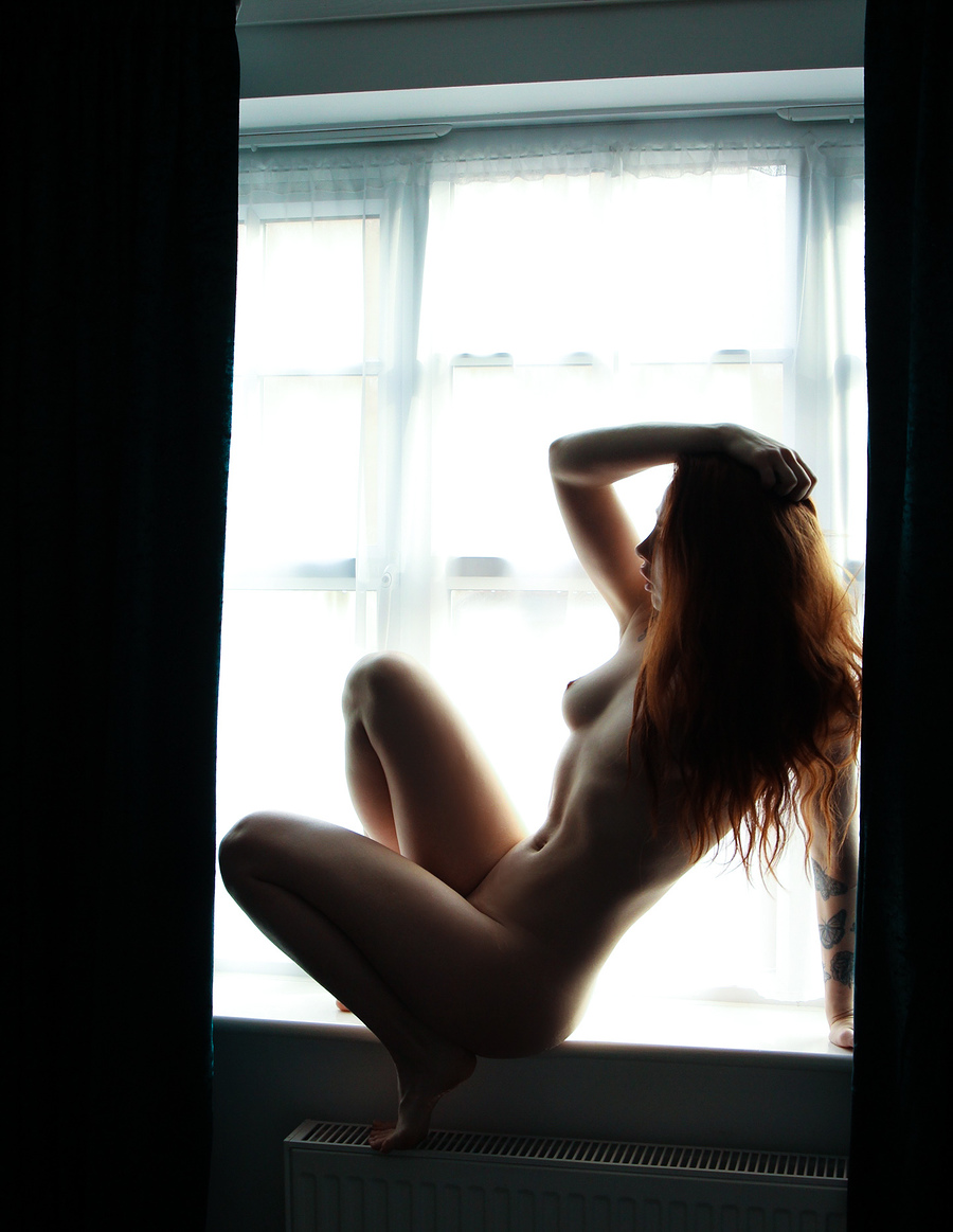 Window self portrait / Photography by DeePhotographic, Model Nico Dee / Uploaded 10th February 2020 @ 01:40 PM