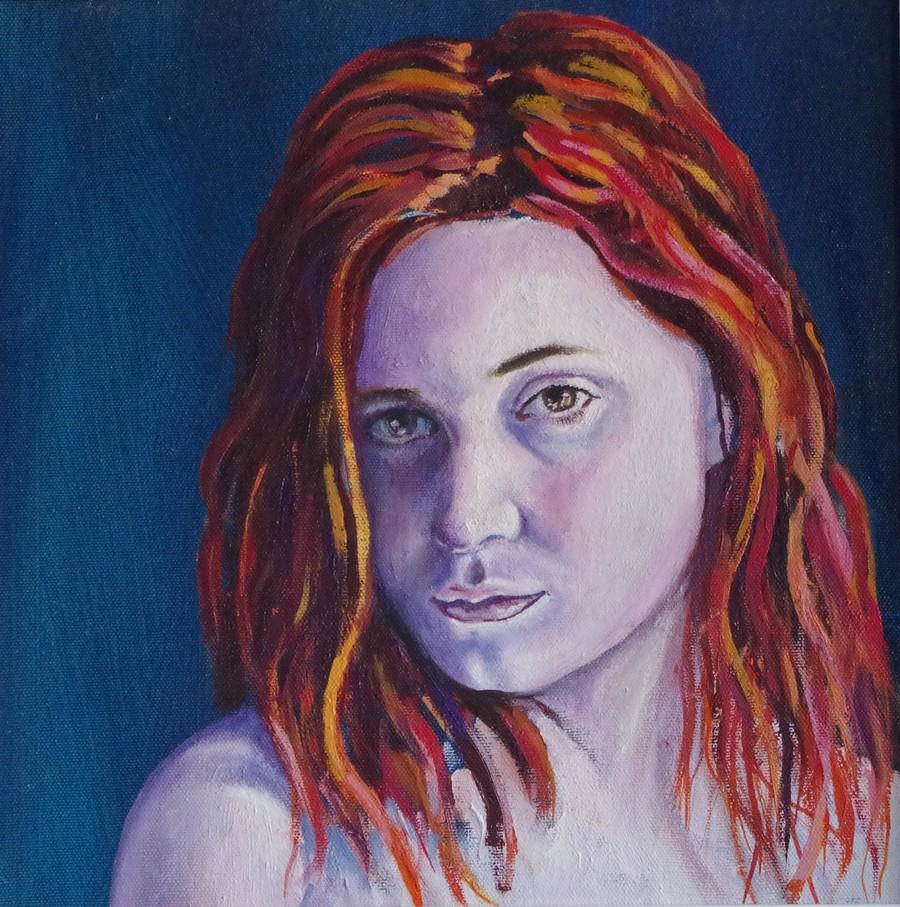 Portrait of Rebecca / Model RebeccaSophia, Artwork by Paint65 / Uploaded 11th October 2017 @ 03:21 PM