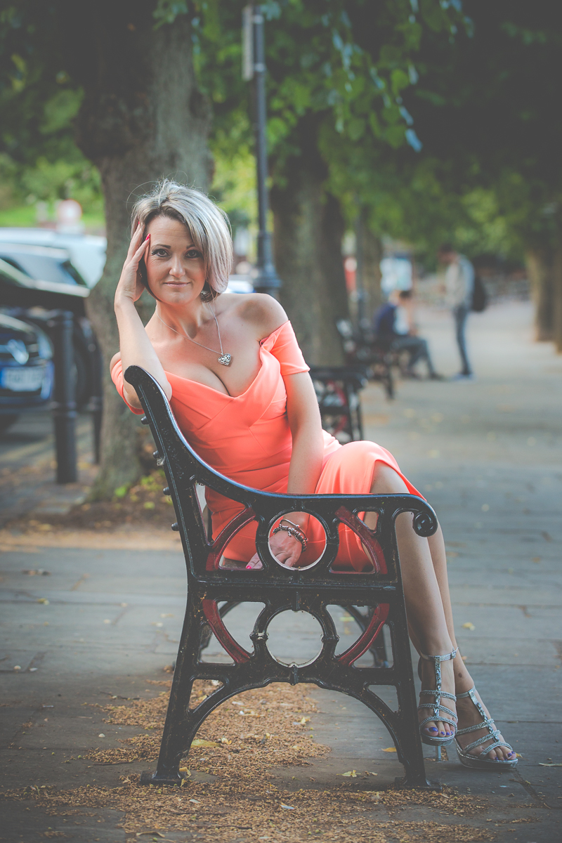 The coral dress / Photography by Mike Goodwin Photography / Uploaded 10th August 2016 @ 07:56 PM