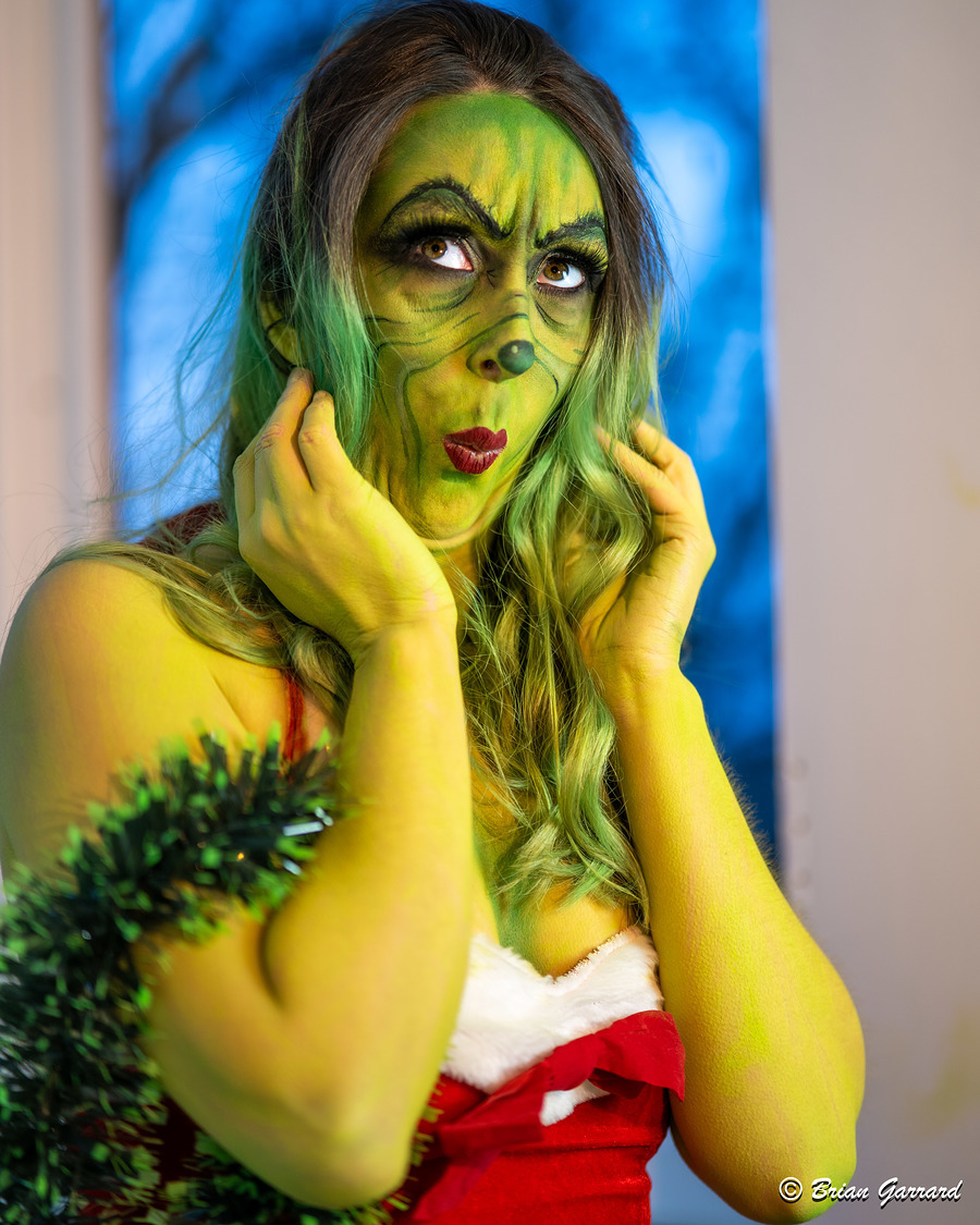 """""""It's because I'm green isn't it?"""" / Photography by Brian Garrard, Model Madame Cerise, Makeup by Funkyourfaceup, Taken at Branded Studios / Uploaded 8th January 2020 @ 02:58 PM"""