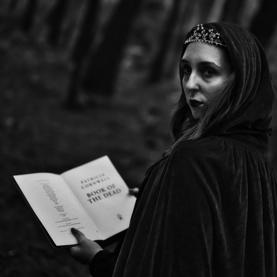 Book of the dead / Photography by natasha boorman (N.J.B.T.PHOTOGRAPHY), Model Madame Cerise / Uploaded 17th November 2020 @ 04:27 PM