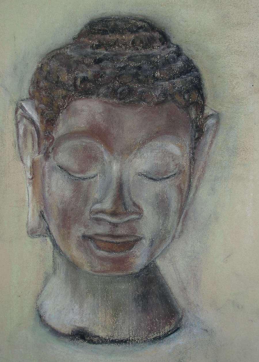 Budha pastel / Artwork by LexiLexi / Uploaded 3rd November 2017 @ 11:41 PM