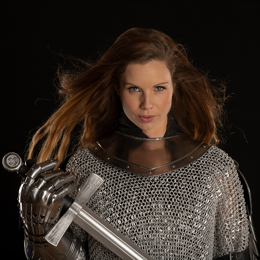 Knight's Armour / Photography by Andy Oliver, Post processing by Andy Oliver, Taken at Ollie's Studio / Uploaded 14th May 2018 @ 08:19 PM