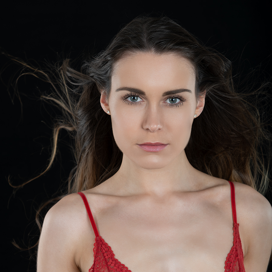 Windswept Hair / Photography by Andy Oliver, Model Kelly Hathaway, Post processing by Andy Oliver, Taken at Ollie's Studio / Uploaded 21st May 2018 @ 09:05 PM