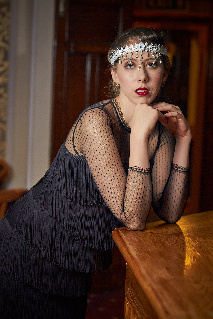 Roaring 20s / Photography by Nils, Makeup by Vicky Stuart / Uploaded 14th March 2020 @ 04:26 PM