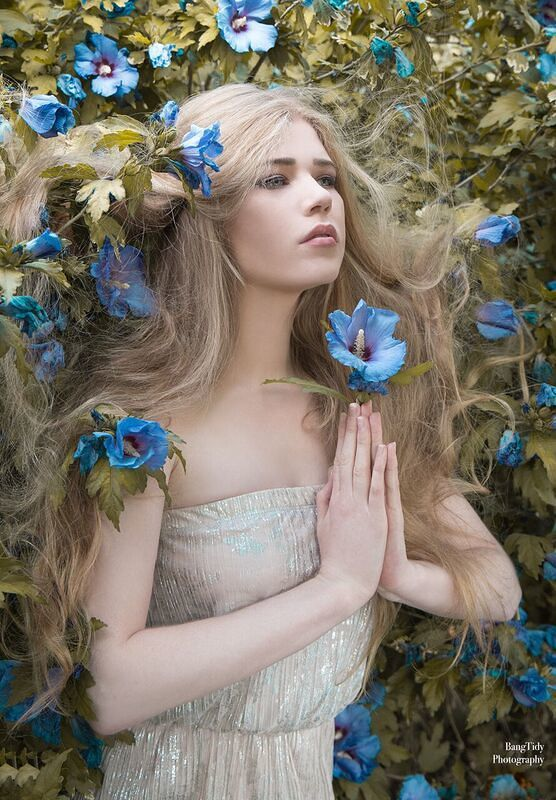 Flower Girl / Photography by Bang Tidy Photography, Model Fern Gasson, Makeup by Sarah Martell MUA / Uploaded 27th September 2018 @ 08:40 AM