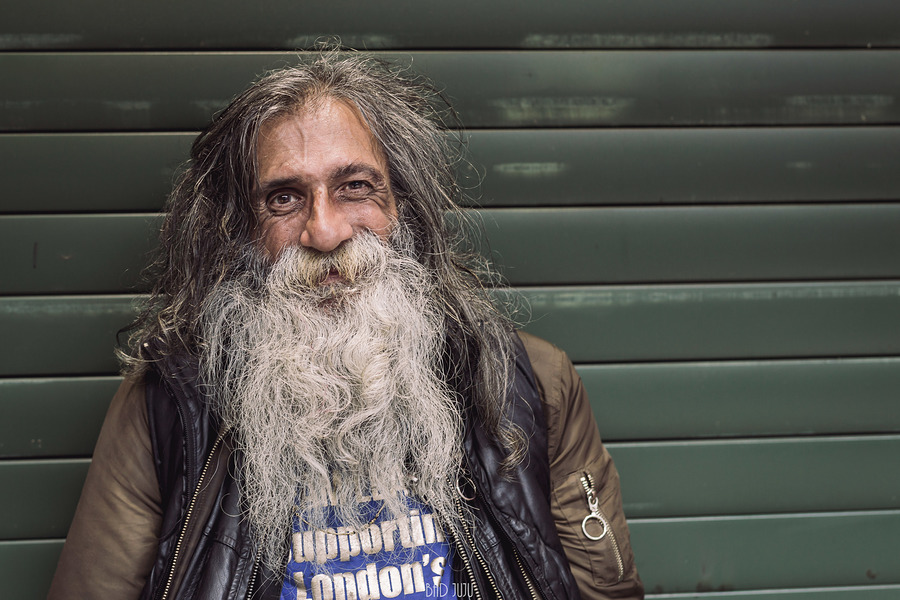 Homeless, not hopeless / Photography by James@BadJuJu / Uploaded 10th August 2019 @ 07:12 PM