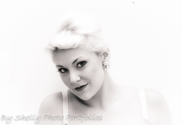 Fifties glamour 21st Century girl / Photography by Shelly / Uploaded 4th August 2013 @ 09:09 PM