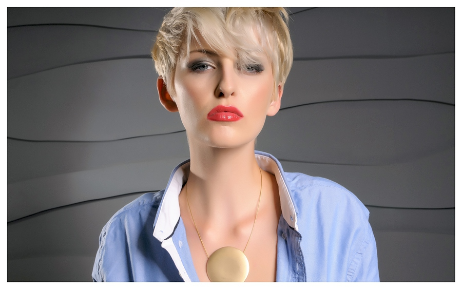 Amber - The blue shirt / Photography by Stephan_d, Model Amber Tutton, Stylist Stephan_d / Uploaded 21st January 2014 @ 11:53 PM