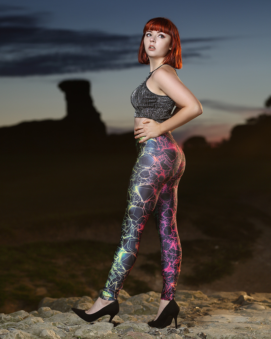 Hadleigh Castle / Photography by Pluck, Model Steph H / Uploaded 19th June 2018 @ 01:59 PM