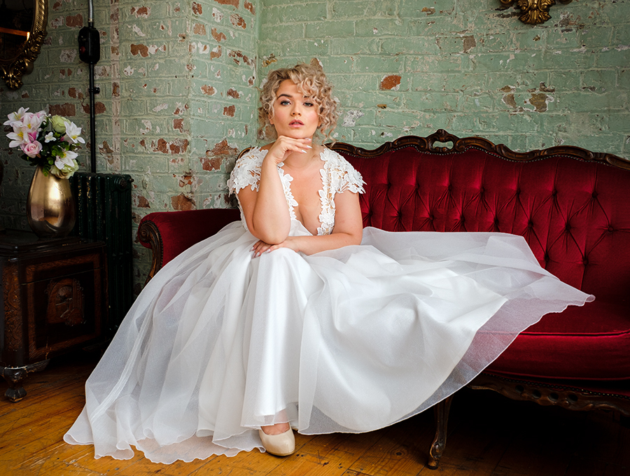 White Ballgown 1 / Photography by Gray2, Model Jessica Megan, Makeup by Natalie Wood, Post processing by Gray2, Taken at The Hacienda, Hair styling by Jessica Megan / Uploaded 2nd August 2019 @ 04:08 PM