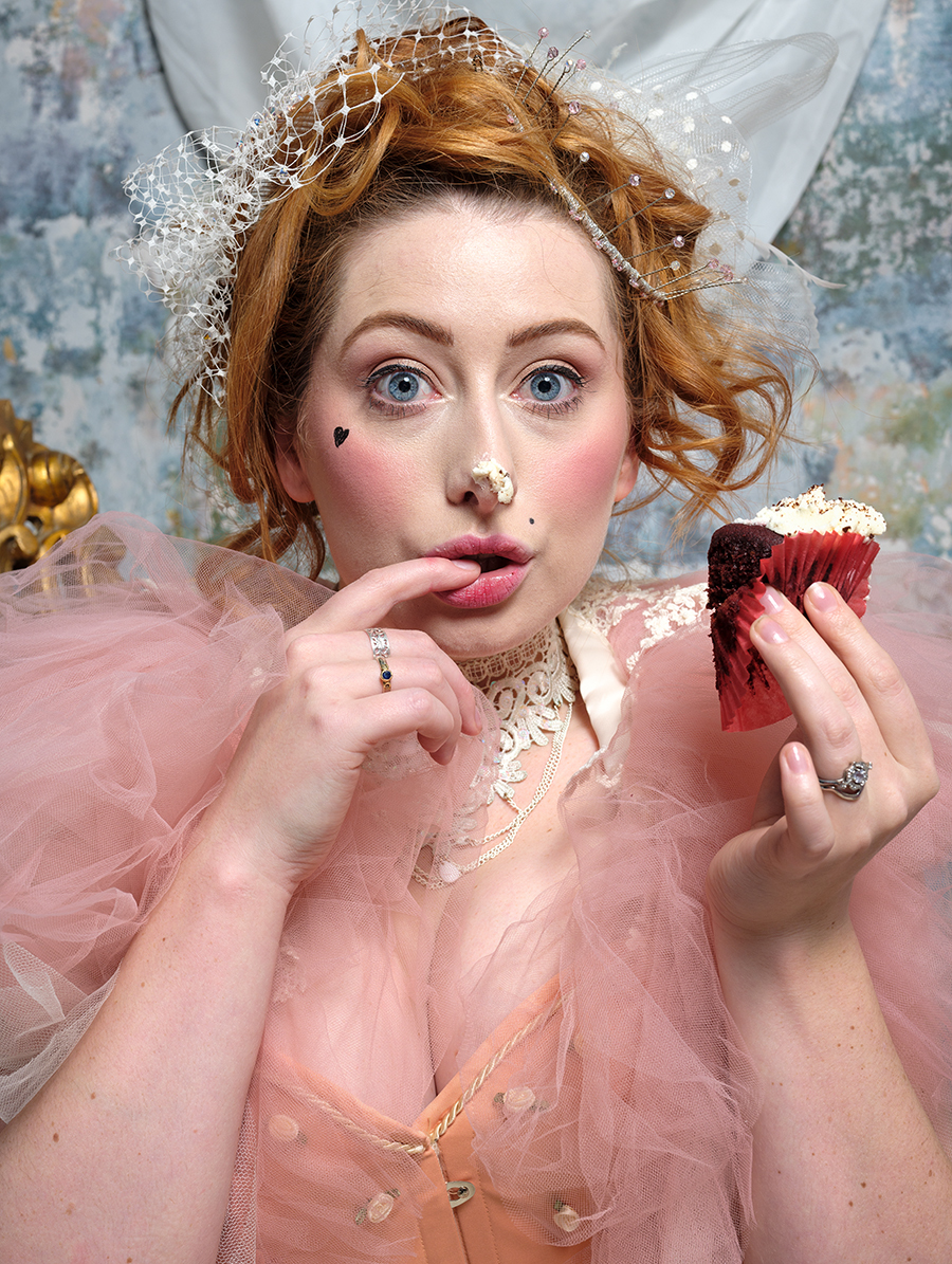Let them eat cake...... / Photography by Gray2, Model Sinopa Rin, Makeup by Sinopa Rin, Post processing by Gray2, Stylist Sinopa Rin, Taken at Fareham Studio, Hair styling by Sinopa Rin, Designer Andy Gaden, Designer Sinopa Rin / Uploaded 10th February 2020 @ 10:06 AM