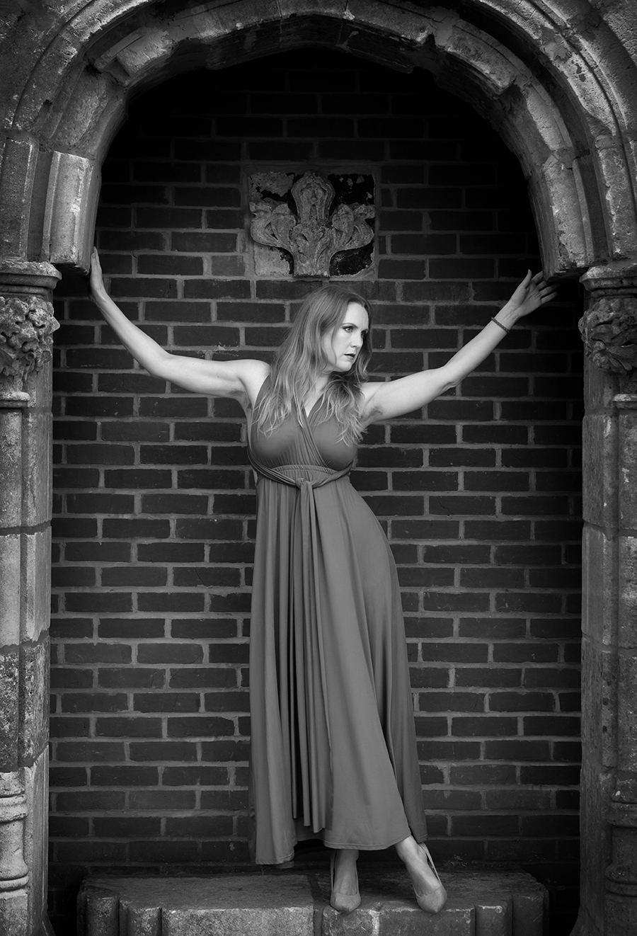 Underneath the Arches.... / Photography by Gray2, Model Natural Happy Woman, Post processing by Gray2, Designer Gray2 / Uploaded 23rd May 2020 @ 01:18 PM