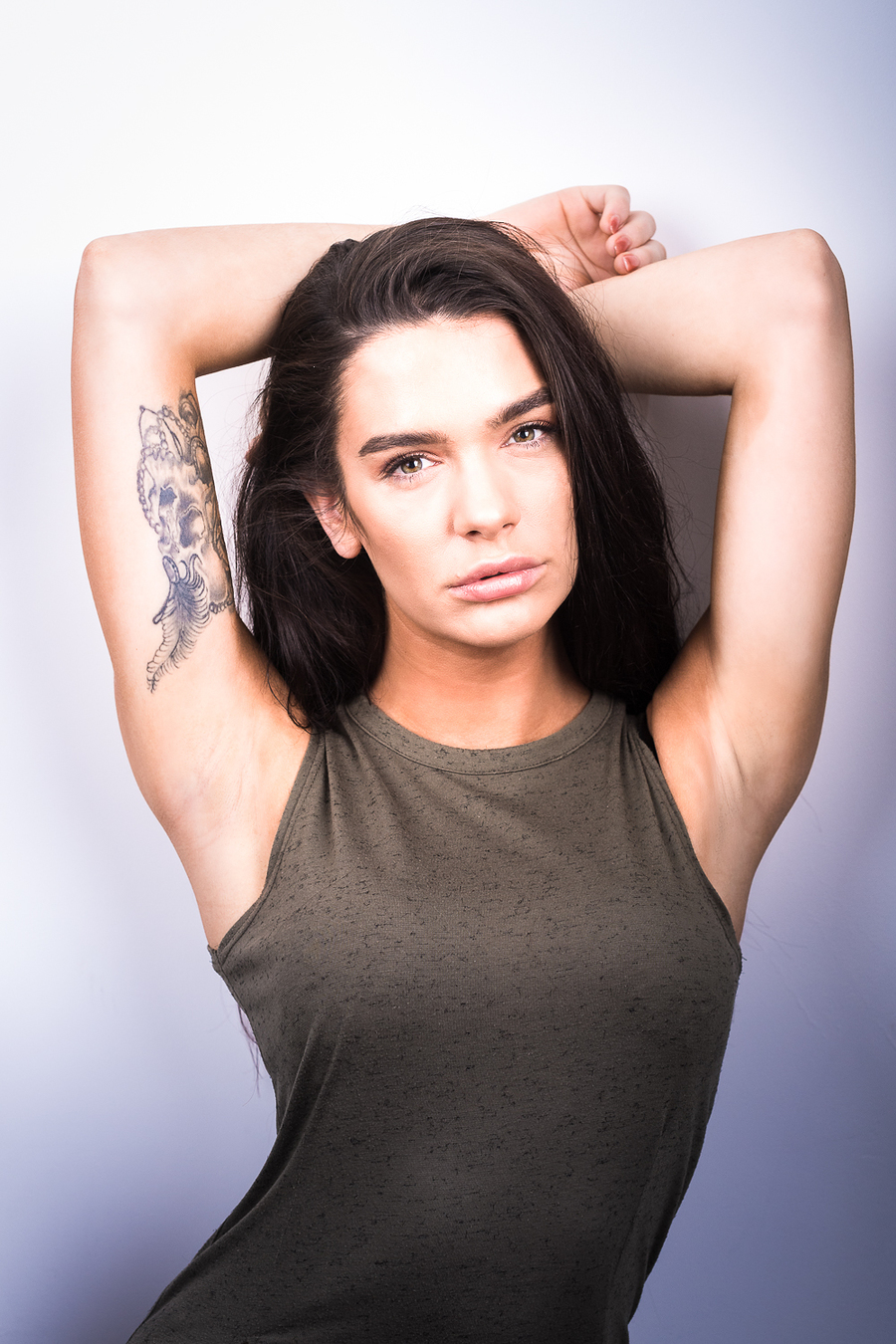 Alex and tattoo / Photography by Mark Nesbit, Post processing by Mark Nesbit / Uploaded 23rd October 2018 @ 07:56 AM