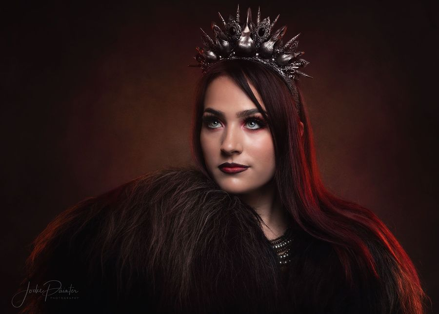 Warrior Queen / Model AidenVR, Makeup by AidenVR / Uploaded 3rd September 2020 @ 06:15 AM
