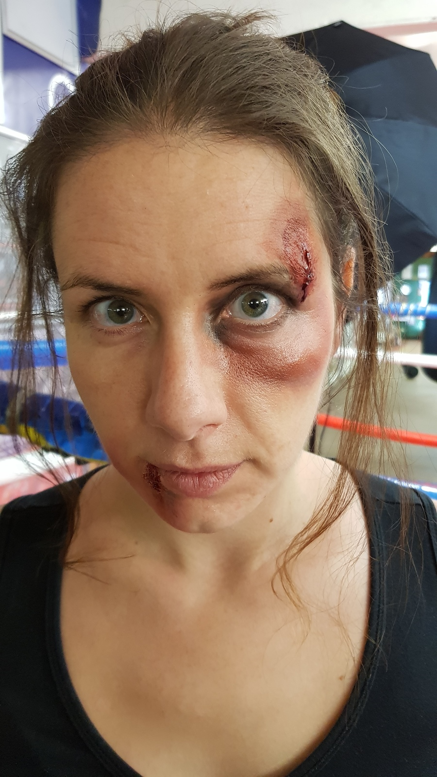 sfx boxing ring makeup / Makeup by JStan / Uploaded 23rd January 2020 @ 09:02 PM