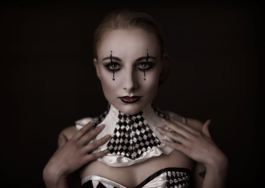 + Harlequin + / Makeup by Katie Johnson Hair and Makeup Artist, Taken at Scarlet Door, Hair styling by Katie Johnson Hair and Makeup Artist, Designer Lyndseyboutique / Uploaded 11th April 2015 @ 06:05 PM