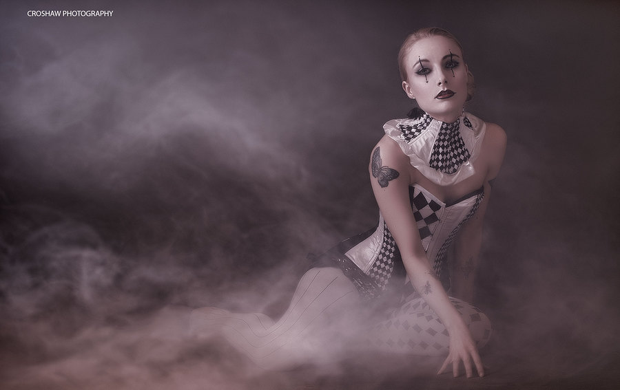 + Harlequin + / Makeup by Katie Johnson Hair and Makeup Artist, Taken at Scarlet Door, Hair styling by Katie Johnson Hair and Makeup Artist, Designer Lyndseyboutique / Uploaded 11th April 2015 @ 06:02 PM