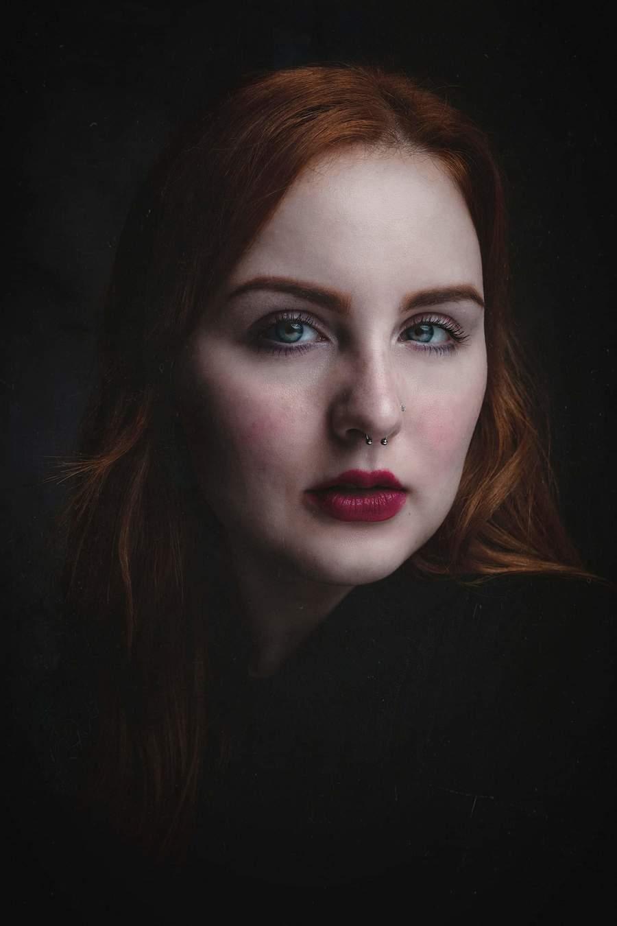 Portrait / Photography by Darryl J Dennis, Model Leigh_Anne, Post processing by Darryl J Dennis, Taken at Big Shot Studio / Uploaded 29th November 2018 @ 08:16 PM