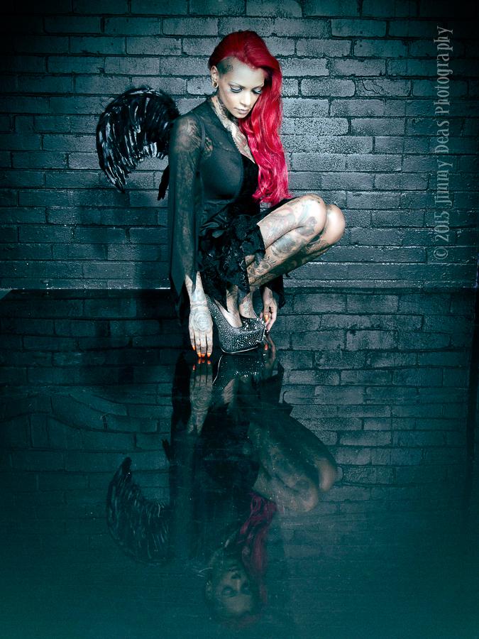 """Fallen Angel......."" aka ""Reflection........ "" / Photography by Jimmy Deas / Uploaded 2nd November 2015 @ 11:48 PM"