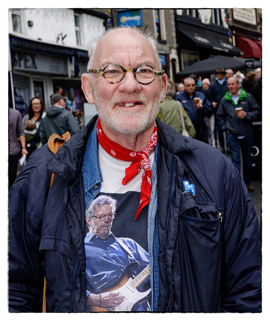 Eric Clapton Fan (or is that Sir Geoffery Howe on his shirt?) / Photography by Timmee, Post processing by Timmee, Taken at Timmee / Uploaded 12th August 2019 @ 10:43 PM