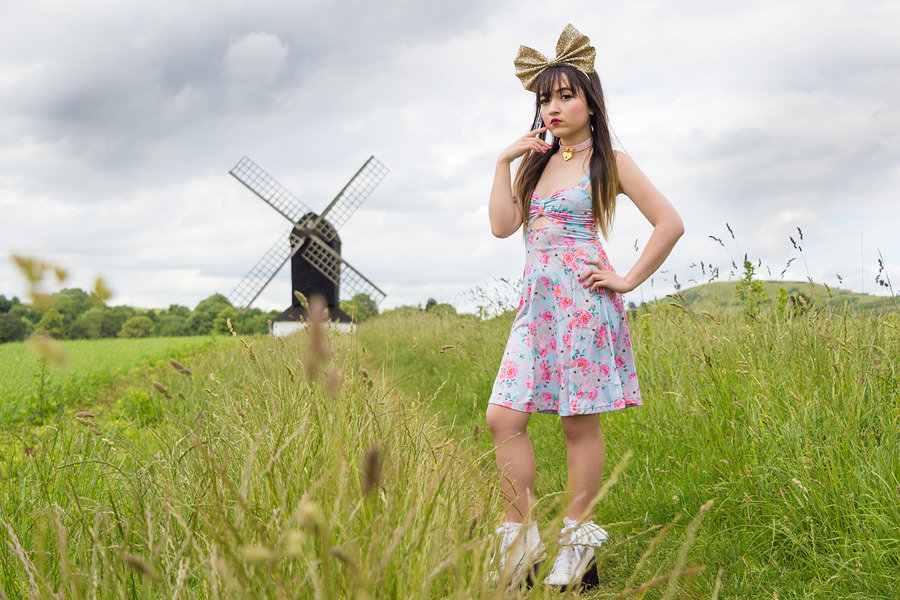 Windmill with Amy Doll / Photography by lyndon_pix, Model Ami Doll / Uploaded 21st June 2018 @ 08:52 PM