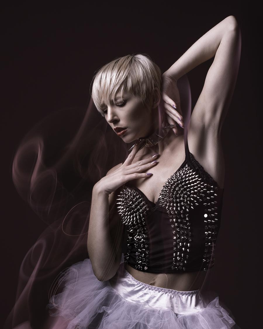 Swirling beauty / Photography by Inspire Studios Ltd, Model Amie Boulton, Taken at Inspire Studios Ltd / Uploaded 10th October 2018 @ 06:16 AM