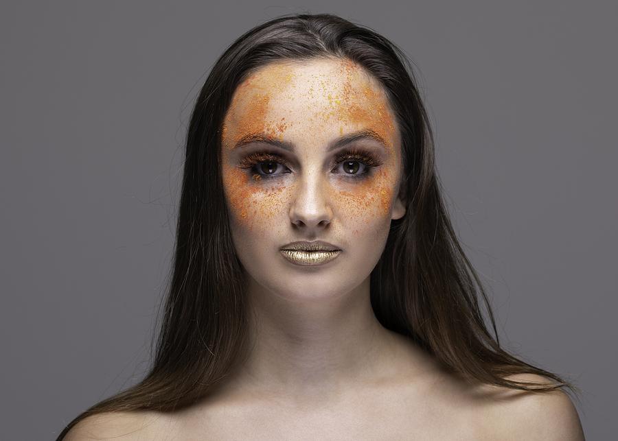 A splash of orange / Photography by Inspire Studios Ltd, Model Chloe Elisabeth, Taken at Inspire Studios Ltd, Assisted by BridgeSHOOTS / Uploaded 8th February 2019 @ 06:51 PM