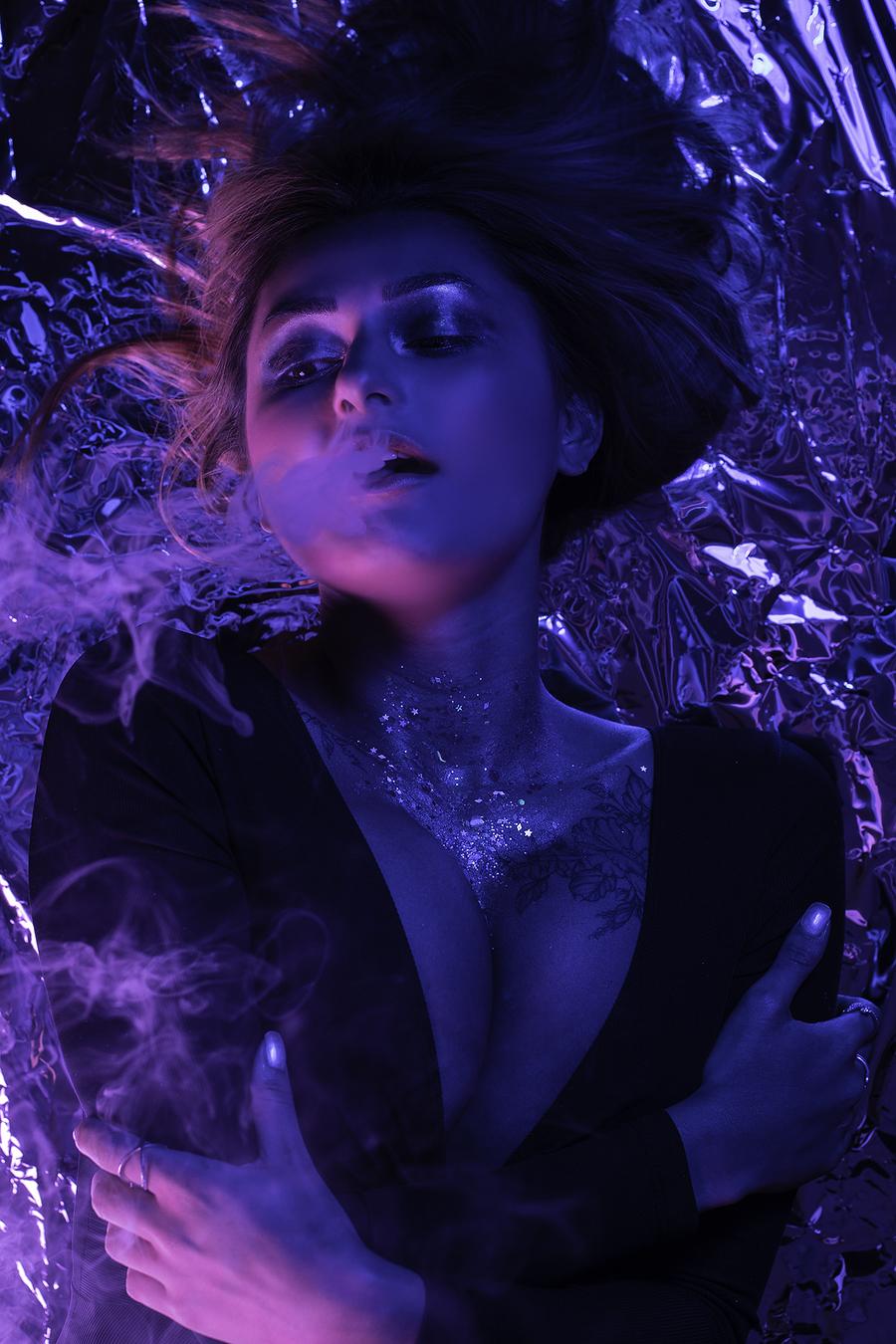 Smoke and mirrors / Photography by Inspire Studios Ltd, Model SamJaz, Taken at Inspire Studios Ltd / Uploaded 5th April 2019 @ 08:49 PM