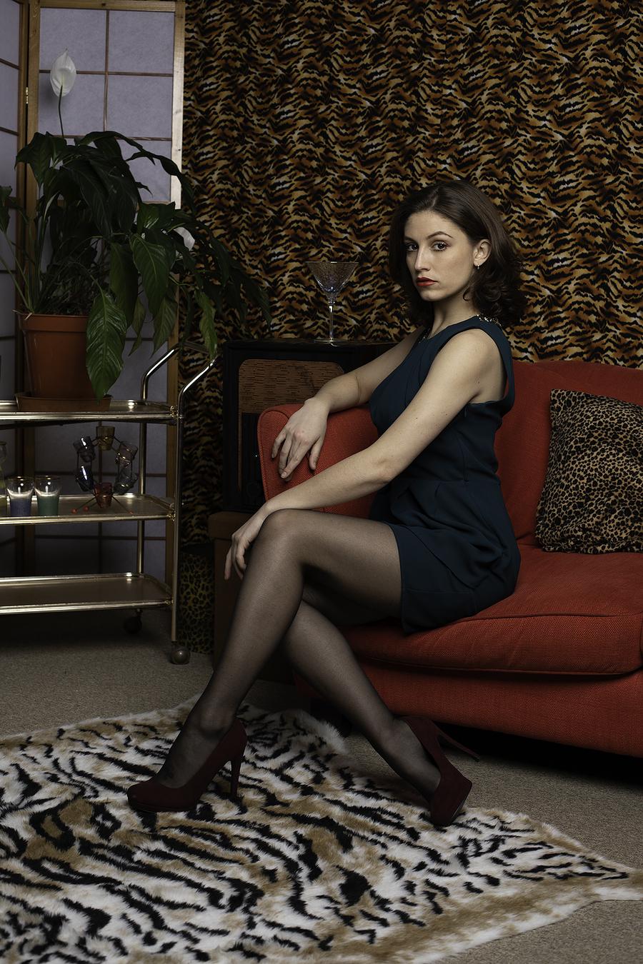 Looking elegant in the lounge / Photography by Inspire Studios Ltd, Model BOou, Taken at Inspire Studios Ltd / Uploaded 12th April 2019 @ 07:58 PM