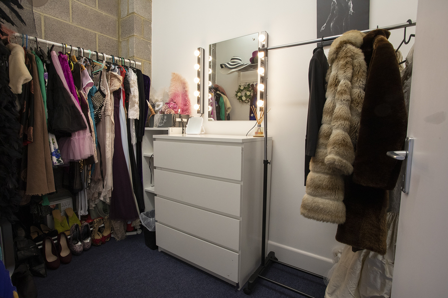 Model dressing room / Taken at Inspire Studios Ltd / Uploaded 14th May 2019 @ 03:27 PM