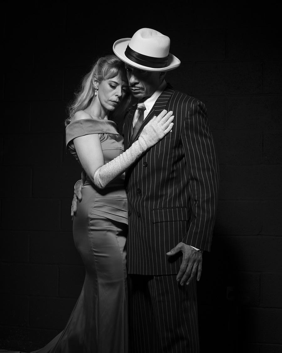 Liaison noir / Photography by Inspire Studios Ltd, Models M e l a n y, Models Retro Rob, Taken at Inspire Studios Ltd / Uploaded 15th June 2019 @ 04:37 PM