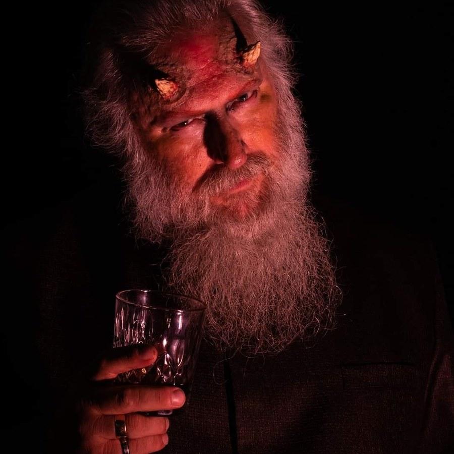 Drink With the Devil / Photography by Robert Cragg Photography, Model MarkBenn, Makeup by MarkBenn, Stylist MarkBenn / Uploaded 10th October 2021 @ 08:02 PM